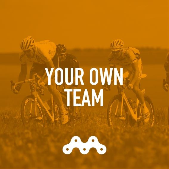 YOUR TEAM – £1440 per rider